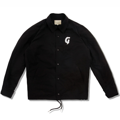 [코이그레이]G LOGO COACH JACKET (black)