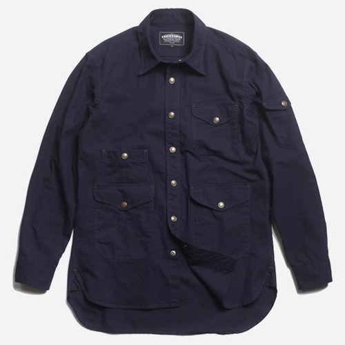 [프리즘웍스]Adventurer shirt jacket _ navy