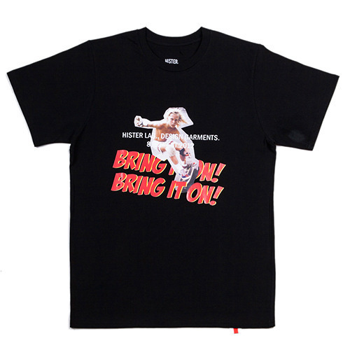 [히스터]BRING IT ON T-SHIRTS BLACK