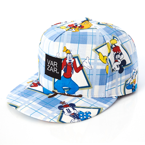 [바잘] disney mickey mouse 5 panel cap blue