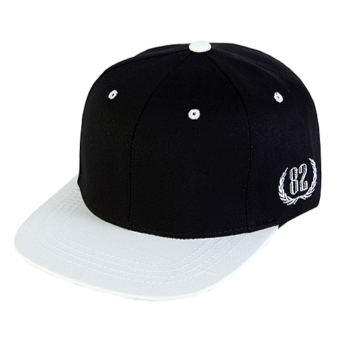 [바잘] two tone 6 panel strapback vol 1 black/white