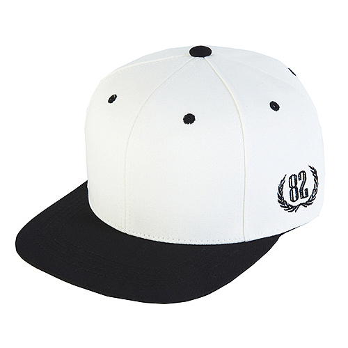 [바잘] two tone 6 panel strapback vol 2 white/black