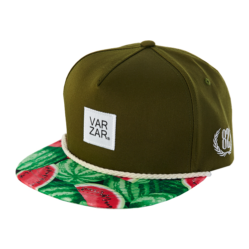 [바잘] watermelons snapback green