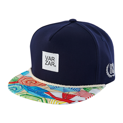 [바잘] umbrellas snapback navy