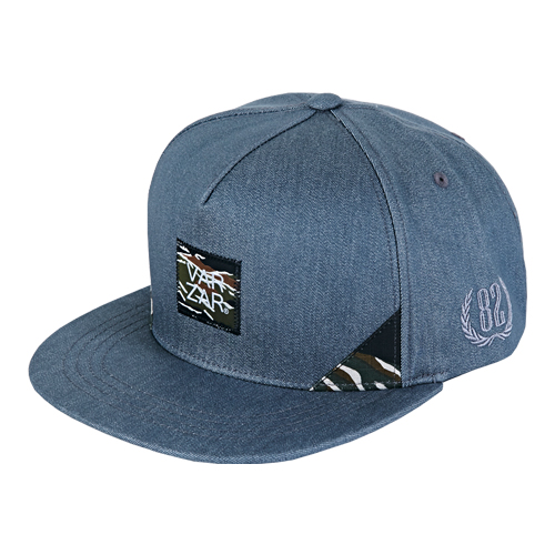 [바잘] camo point coating snapback grey