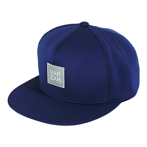 [바잘] reflecting lavel neoprene snapback navy