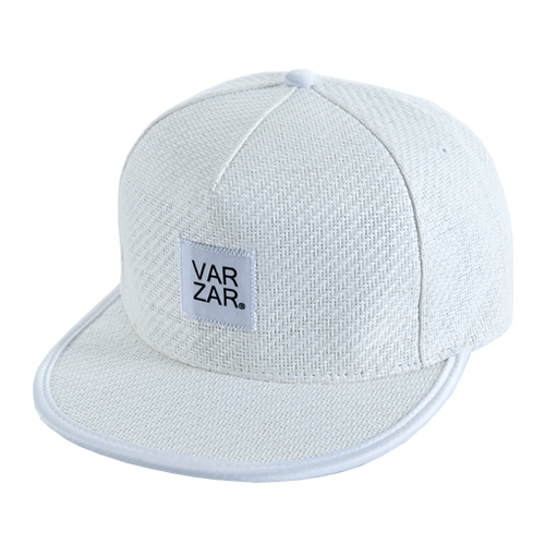 [바잘] basic straw snapback white