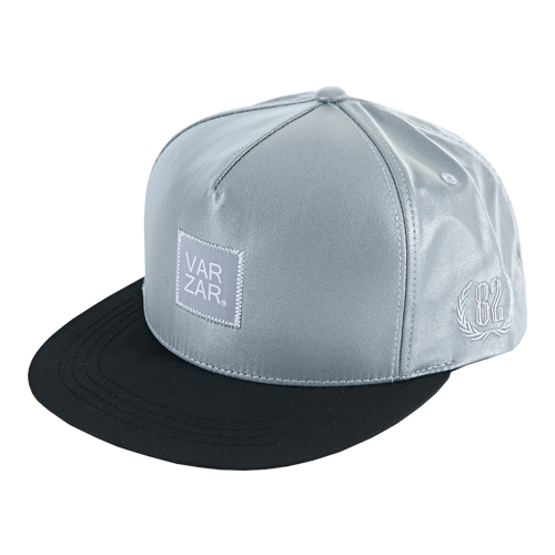 [바잘] 3M reflecting snapback silver/black