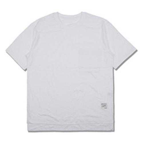 [코이그레이]oversized pocket T-shirts WHITE