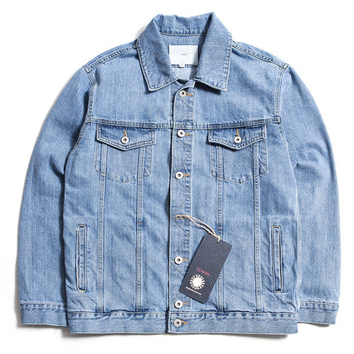 [제로] Oersized Denim Jacket LIGHT BLUE