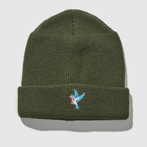 [트웰라이브]BLUEBIRD WATCH CAP OLIVE