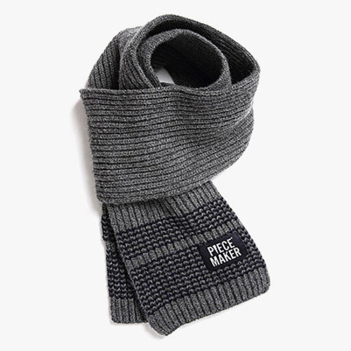[피스메이커]TITCH WOOL MUFFLER (GREY)