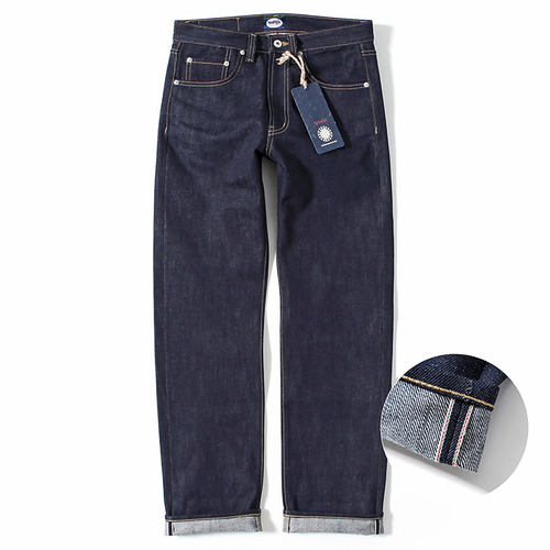 [제로]XERO - Regular Fit Selvedge Raw Denim Pants