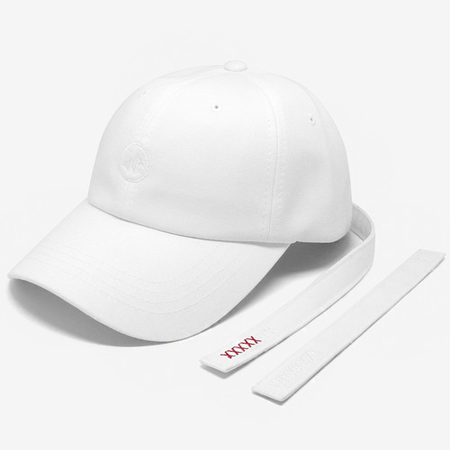 [위티나트]SHIFTRAP BALLCAP (white)