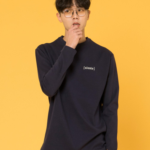 [시에스타] [ SIESTA ] BASIC T [NAVY]