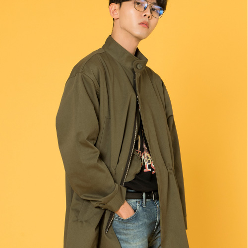 [시에스타] SIESTA SAFARI JACKET [DARK-KHAKI]