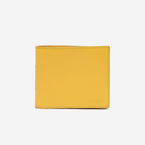 [피스메이커]LEATHER PIECE MANS WALLET (MUSTARD)