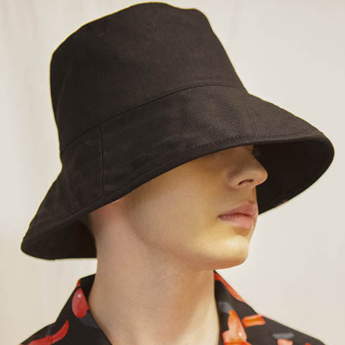[시그니처]UNISEX OVER BUCKET[BLACK]