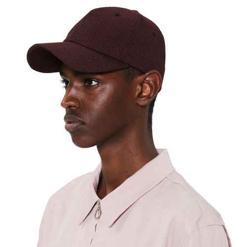 [모노소잉]pattern ballcap(Red)