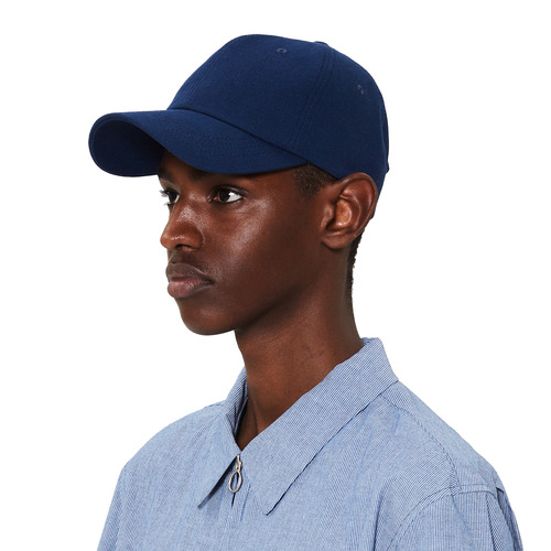 [모노소잉]Soild ball cap(Blue)