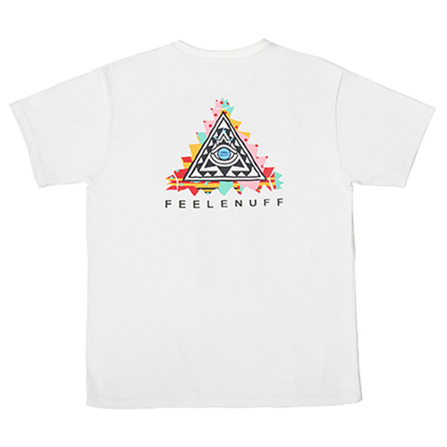 [필이너프]PYRAMID T-SHIRTS(WHITE)