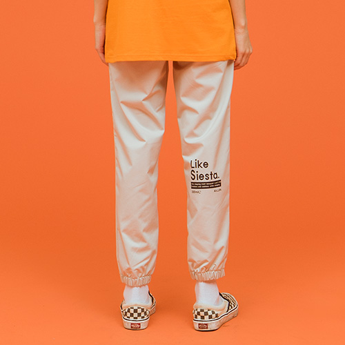 [시에스타] LIKE A SIESTA JOGGER PANTS [WHITE]