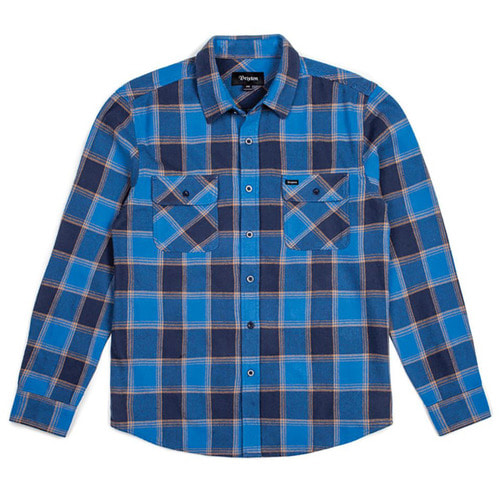 [브릭스톤]BOWERY L/S FLANNEL - BLUE/NAVY