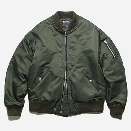 [프리즘웍스]Decode MA-1 flight jacket _ olive