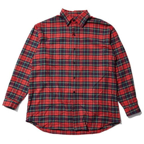 [오베르]ESSAY.3 OVERR CHECK SHIRTS