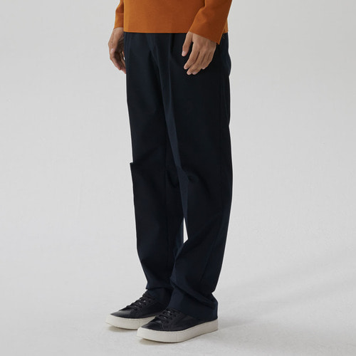[모노소잉]SOLID WIDE TROUSER(BLACK)
