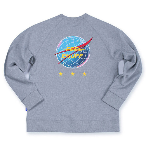 [필이너프]INTERNATIONAL CREWNECK GRAY