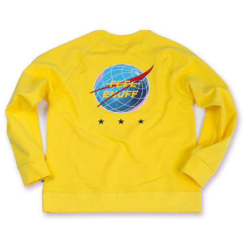 [필이너프]INTERNATIONAL CREWNECK YELLOW