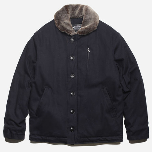 [프리즘웍스]Edgar N-1 Deck jacket _ navy