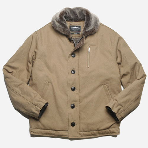 [프리즘웍스]Edgar N-1 Deck jacket _ beige