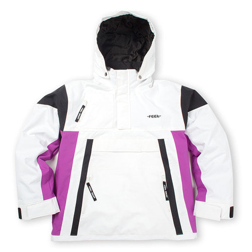 [필이너프]WIND STOPPER ANORAK WHITE