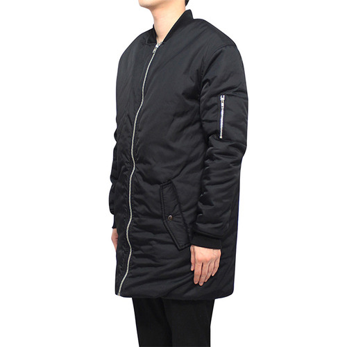 [클라코] LONG MA-1 PADDING (BLACK)