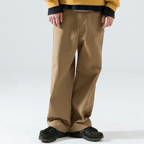 [시에스타] SIESTA WIDE OUT PANTS [BEIGE]