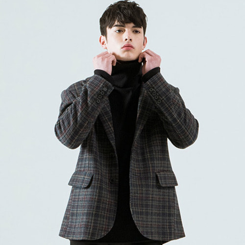 [시에스타] SIESTA CHECK JACKET [GREEN]