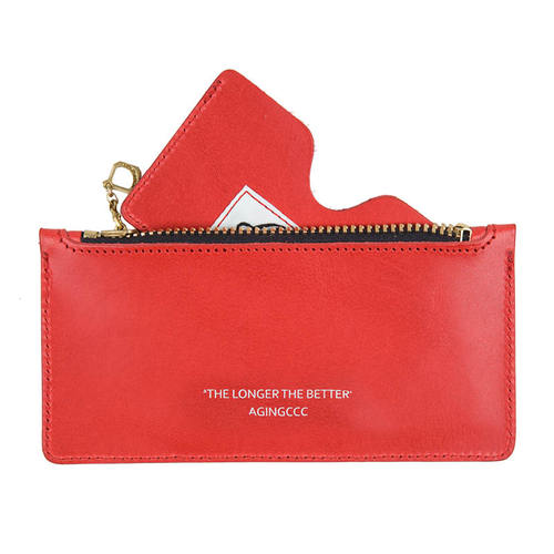 [에이징씨씨씨]267# STANDARD CARD POUCH-RED