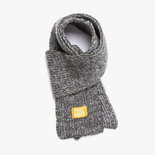 [피스메이커]FISHERMAN MUFFLER (MELANGE GREY)