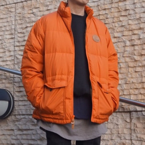 [스투시]WESTRIDGE DOWN HOODED JACKET [ORANGE]
