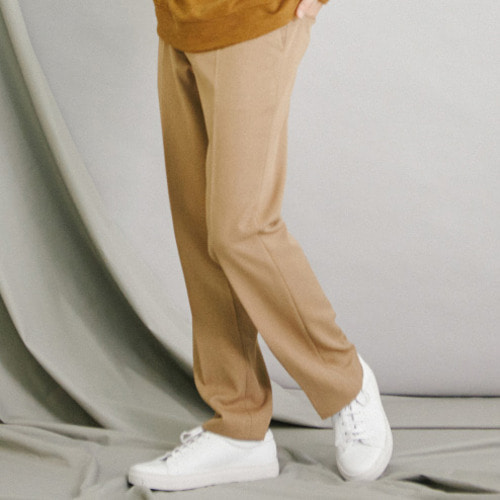 [모노소잉]COLOR WIDE TROUSER(BEIGE)