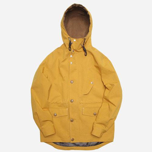[프리즘웍스]Paulo mountain field parka _ mustard
