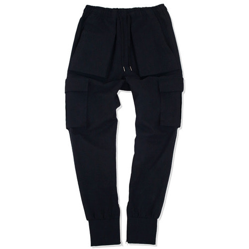 [낫포너드]N4ND Cargo Jogger Pants - Black