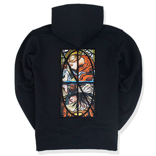 [낫포너드]Narcissism Pullover Hood - Black