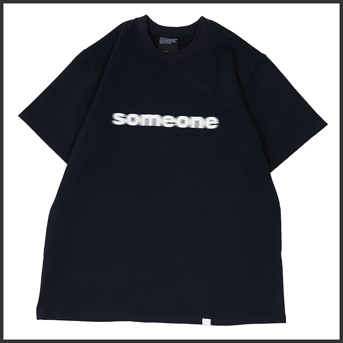 [노매뉴얼]ANONIMITY T-SHIRT - DARK NAVY