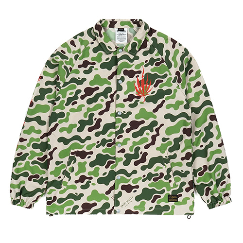 [스티그마]STIGMA DUST OVERSIZED COACH JACKET CAMOUFLAGE