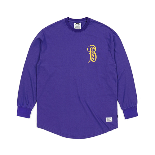 [스티그마]STIGMA LTD LAYERD LONG SLEEVES T-SHIRTS VIOLET