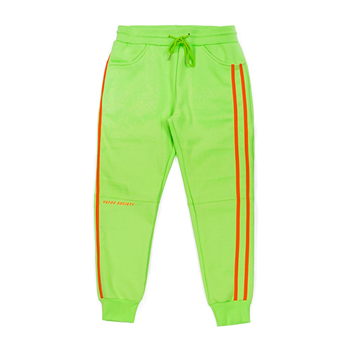 [스티그마]STIGMA LINE SPORTS HEAVY SWEAT JOGGER PANTS NEON GREEN