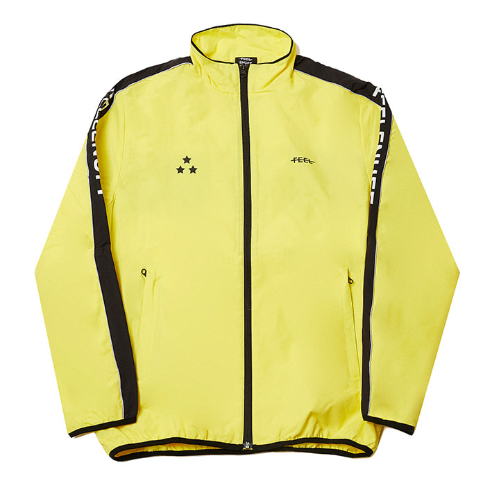 [필이너프]PIPING TRACK JACKET YELLOW
